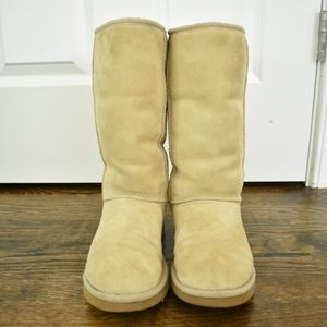 Tall Tan Uggs